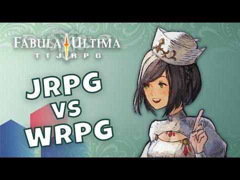 UN MERCOLEDI' DA FABULA - 10 - JRPG vs WRPG