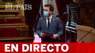 DIRECTO PABLO HASÉL | ARAGONÈS comparece en el PARLAMENT