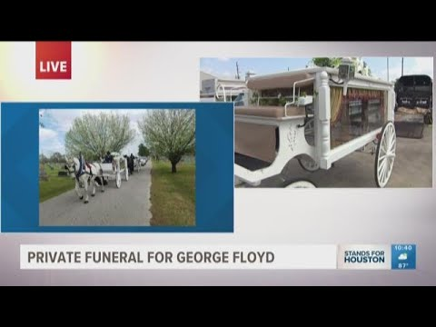 Owner Of Horse-drawn Carriage Says It's An 'honor To Take George Floyd Home'