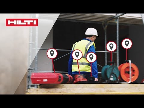 INTRODUCING Hilti ON!Track Active Tracking