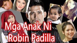 Mga Anak Ni Robin Padilla At Ang Kanilang Mga Mothers