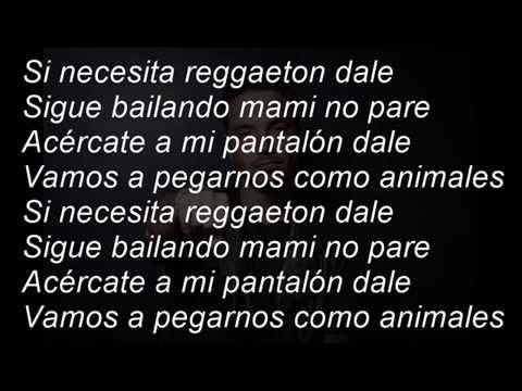 J Balvin-Ginza 2015 (Reggaeton Dale) Letra
