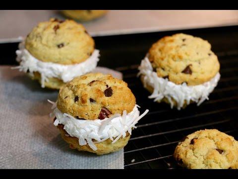 recette-facile-des-cookie-sandwich-crème-chamallow