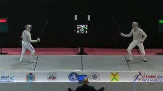 Финал. Никита Проскура - Камиль Ибрагимов. Сабля мужчины личные соревнования.