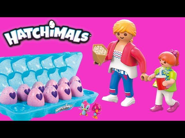 Playmobil & Hatchimals • Kieszonkowe Zosi • bajka po polsku
