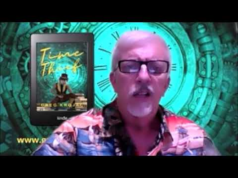 Greg Krojac reads from his time travel story 'Time Thief'