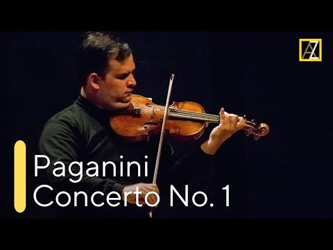 PAGANINI: Violin Concerto No. 1 [Live from Kiev 🇺🇦] - Antal Zalai, violin