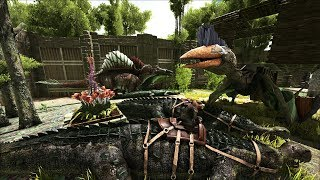 ARK: Survival Evolved - Уроки выживания. Урок 69. Даешь крокодилов!