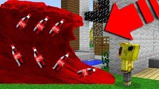 KOLA TSUNAMİ VS EV! - Minecraft
