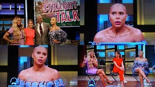 TAMAR BRAXTON being SUPER RUDE on the Steve Harvey Show!