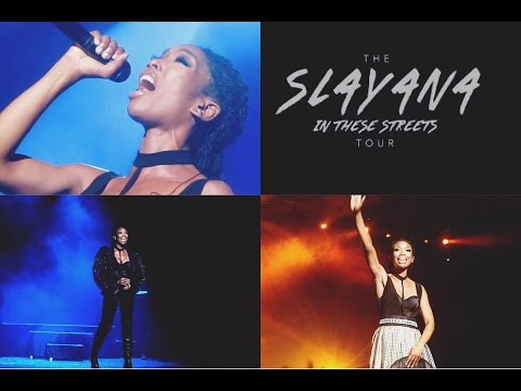Brandy - The Slayana In These Streets Tour (Live in Manchester, England)