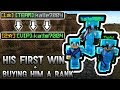 Helping Out a Fan! His First WIN + RANK