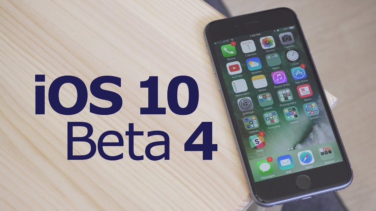 What's New in iOS 10 Beta 4!