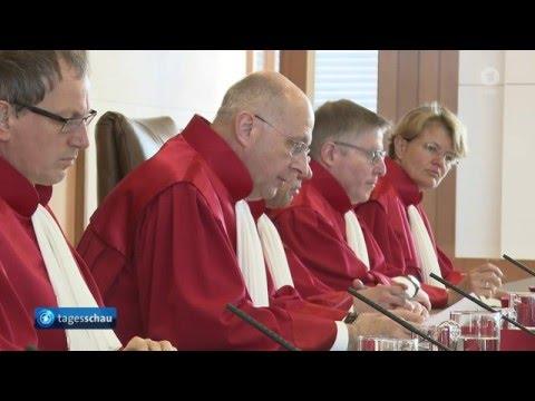 Bundesverfassungsgericht: Bundeskriminalamt-Gesetz zum Teil verfassungswidrig - ARD Tagesschau