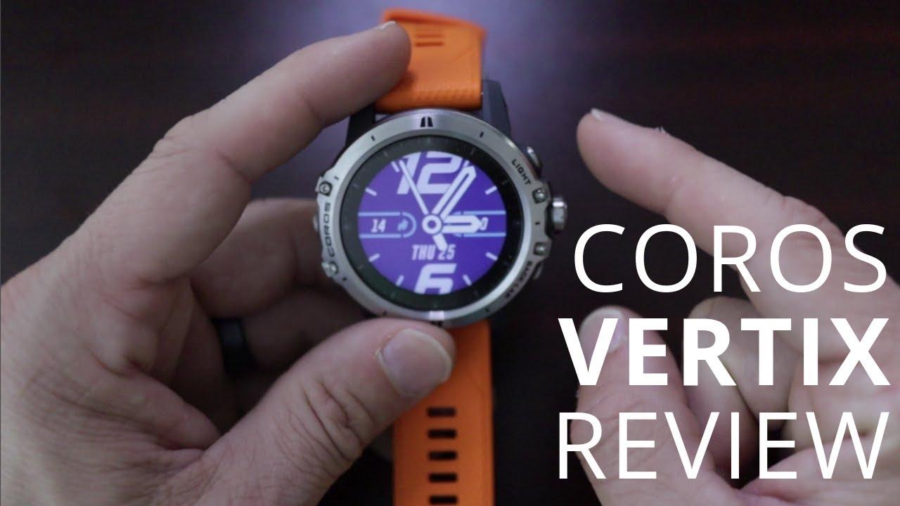 Coros Vertix Review – iRunFar com