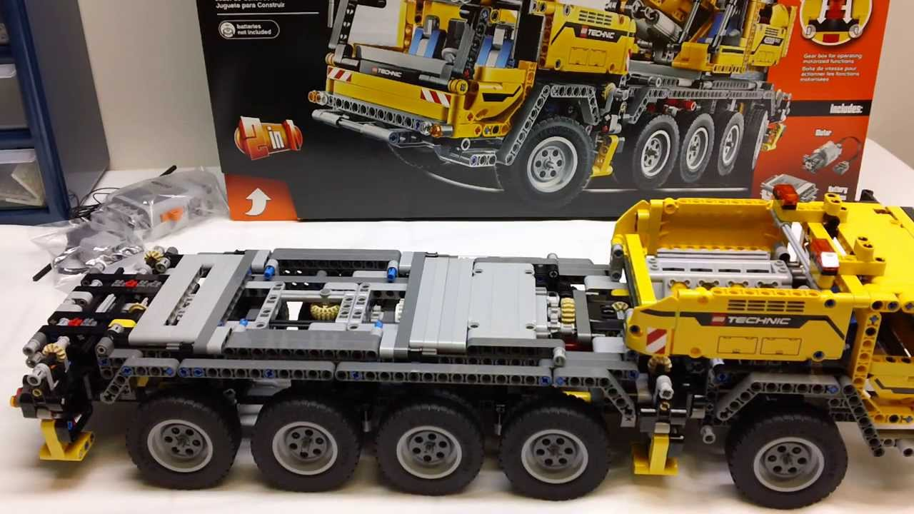 lego 42009 technic mobile crane mkii build review series. Black Bedroom Furniture Sets. Home Design Ideas