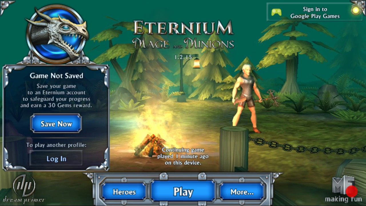 Eternium Mage and Minions Review