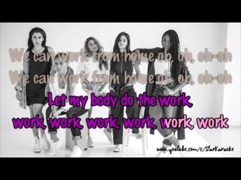 Fifth Harmony - Work From Home [Karaoke/Instrumental]