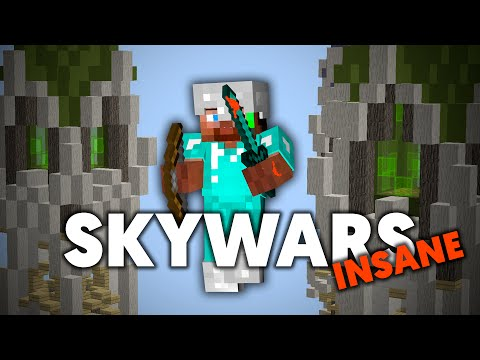 "Dansk Minecraft - Sky Wars Insane Mode - ""HAN ER JO OP!!!"""