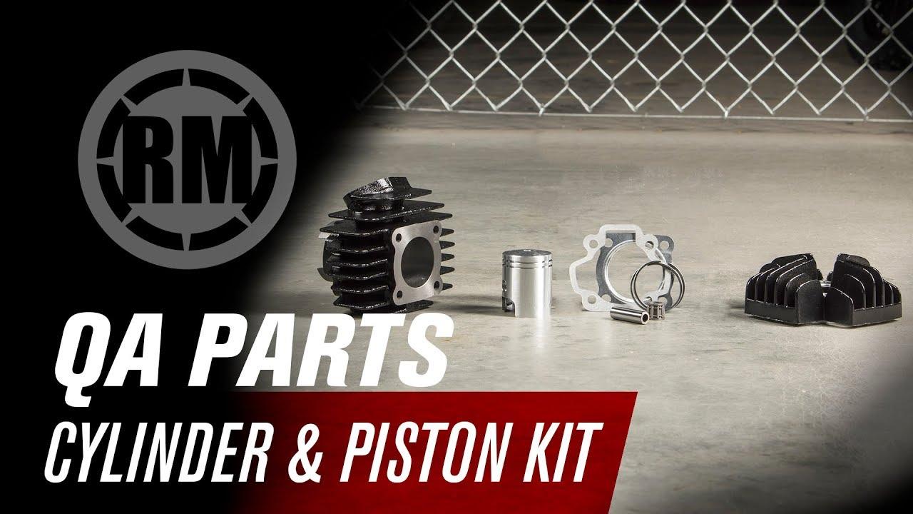 Goede QA Parts Cylinder and Piston Kit | Yamaha PW50 - YouTube AJ-93