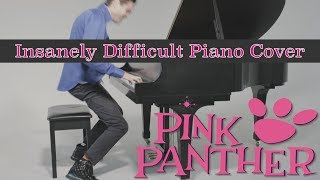 """The Pink Panther"" Insanely Difficult Jazz Piano Arrangement With Sheet Music"