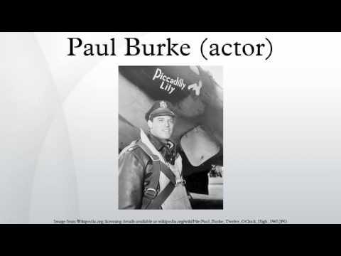 Paul Burke actor