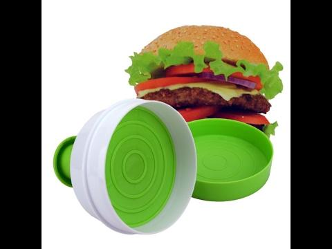 Hamburgerformer 2er Burgerpresse Hamburger Burger Maker Presse Hamburgerformer