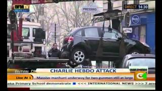 French Police Release Names Of Charlie Hebdo Attackers