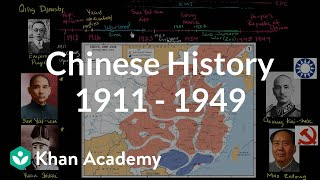 Overview of Chinese History from 1911 -  1949