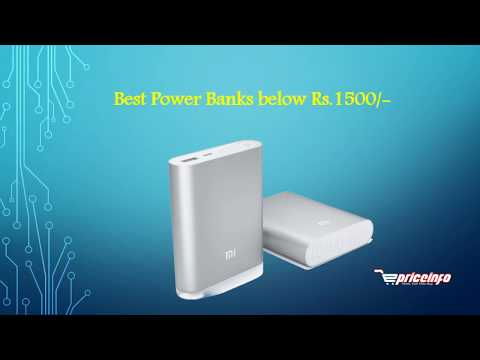 Best Power Banks below 1500