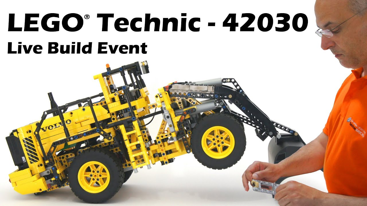 lego technic 42030 remote controlled volvo l350f wheel. Black Bedroom Furniture Sets. Home Design Ideas