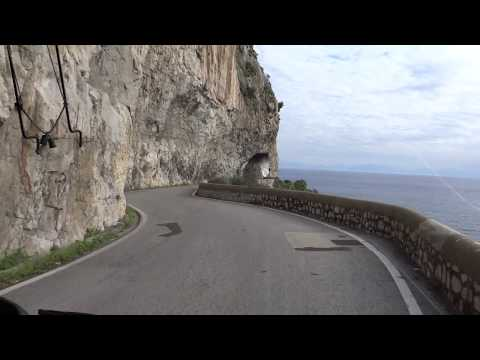 OurTour on the Amalfi Coast between Amalfi and Salerno, Italy