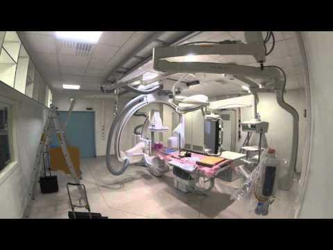 Artis Q Siemens - VINRAD UZ Gent Time Lapse - Angiography