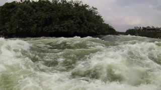 Nile River Rafting 2013, Jinja, Uganda