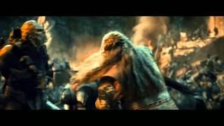 The Hobbit: Thorin Vs Azog First Battle - Full HD Part 2