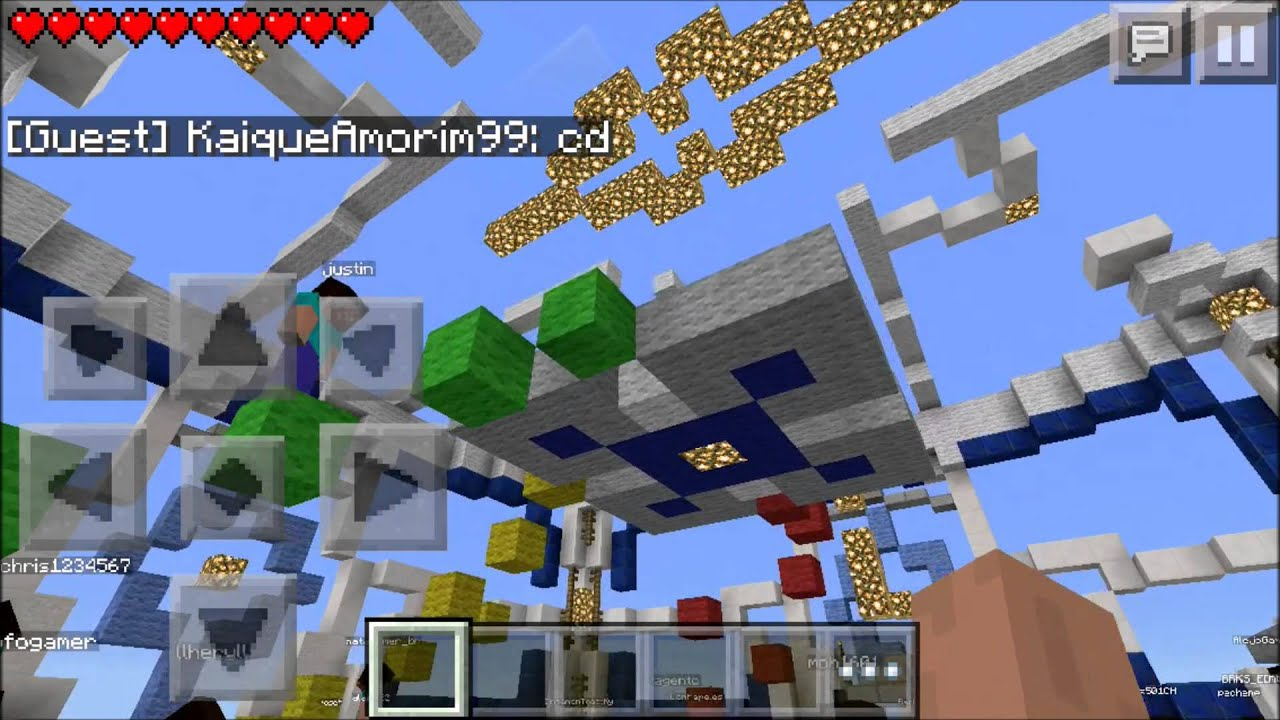 how to play on online servers in minecraft pe