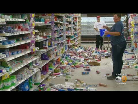 Commissary, Chapel At Naval Base Heavily Damaged After Ridgecrest Earthquakes