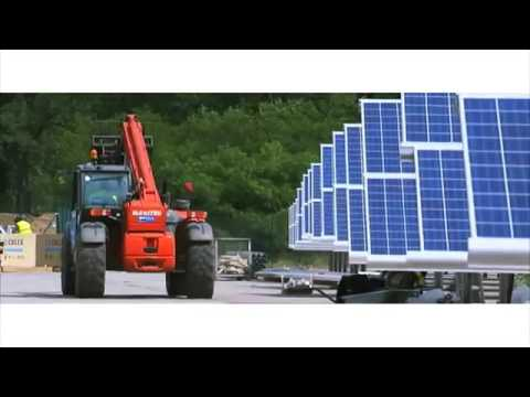 46 MW Q CELLS Solar Power Plant Installation in Zerbst, Germany