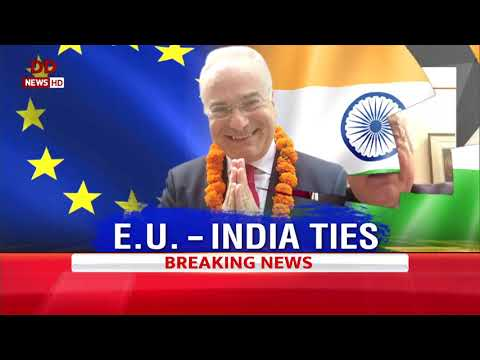 India-EU Ties | DD News Exclusive: Interview With EU Envoy To India Ugo Astuto | 6.5.2020