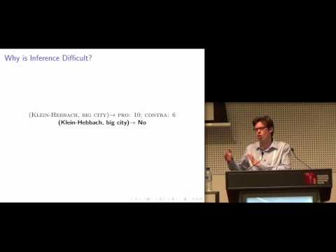 SIGMOD 2015 Talk by Immanuel Trummer: Mining Subjective Properties from the Web