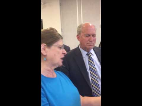 Citizen activist presents Alaska Governor with petition to recall him for raiding the PFD.