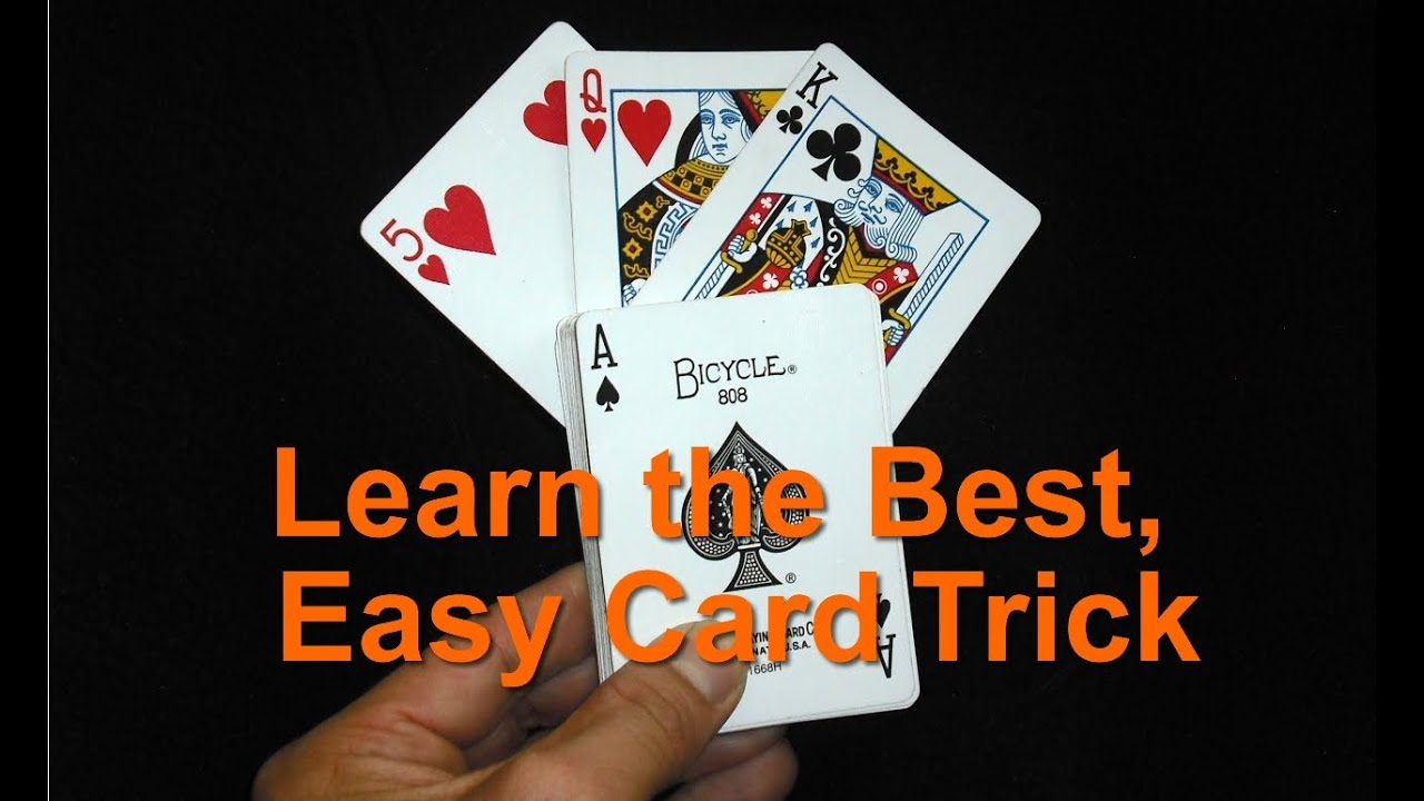 How To Perform The World S Best Easy Magic Card Trick Magic Card Tricks Easy Magic Card Tricks Card Tricks