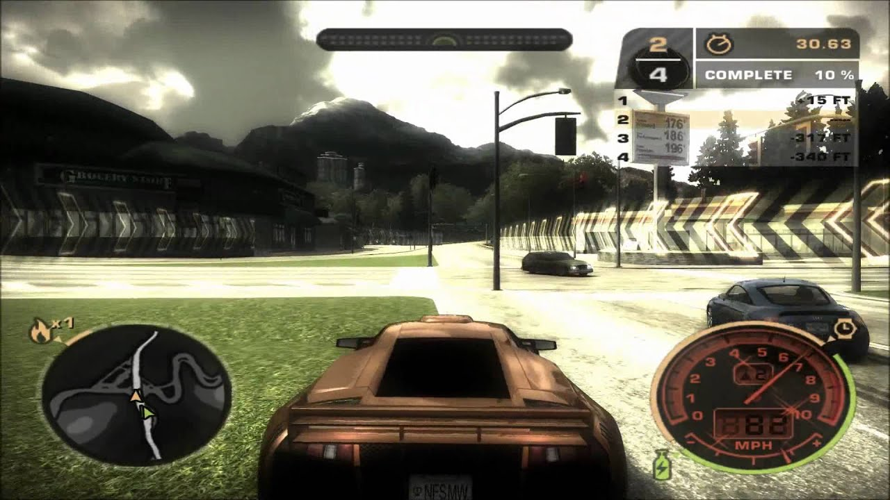 Need For Speed Most Wanted Black Edition Ultra 1080p