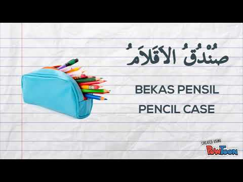 Peralatan Sekolah Part2 Arab Youtube