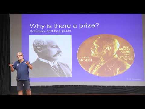'The History and Future of the Nobel Prize' by Professor Sven Lidin