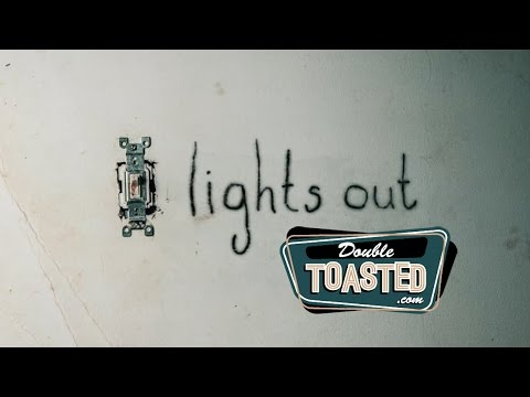 Thumbnail: LIGHTS OUT MOVIE REVIEW - Double Toasted Highlight