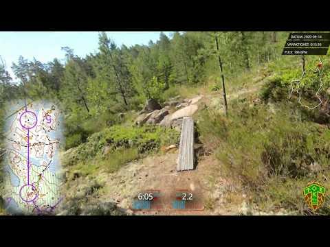 Letro Sport Training Course (Orienteering Headcam)