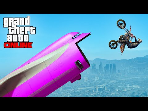 GTA 5 WINS: EP. 20 (AWESOME GTA 5 Stunts &...
