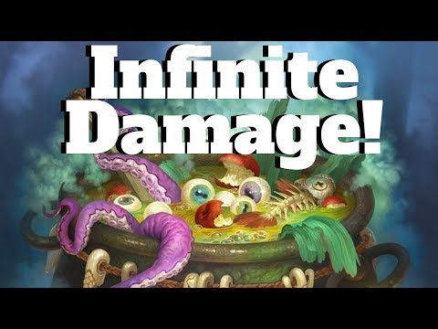 Infinite Damage! Insane Witch's Brew Combo! [Hearthstone Game of the Day]