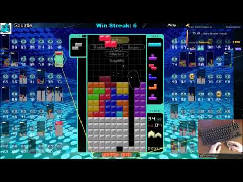 Tetris 99 Win vs Danqsta